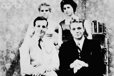 Lee Harvey Oswalds with friends in Minsk