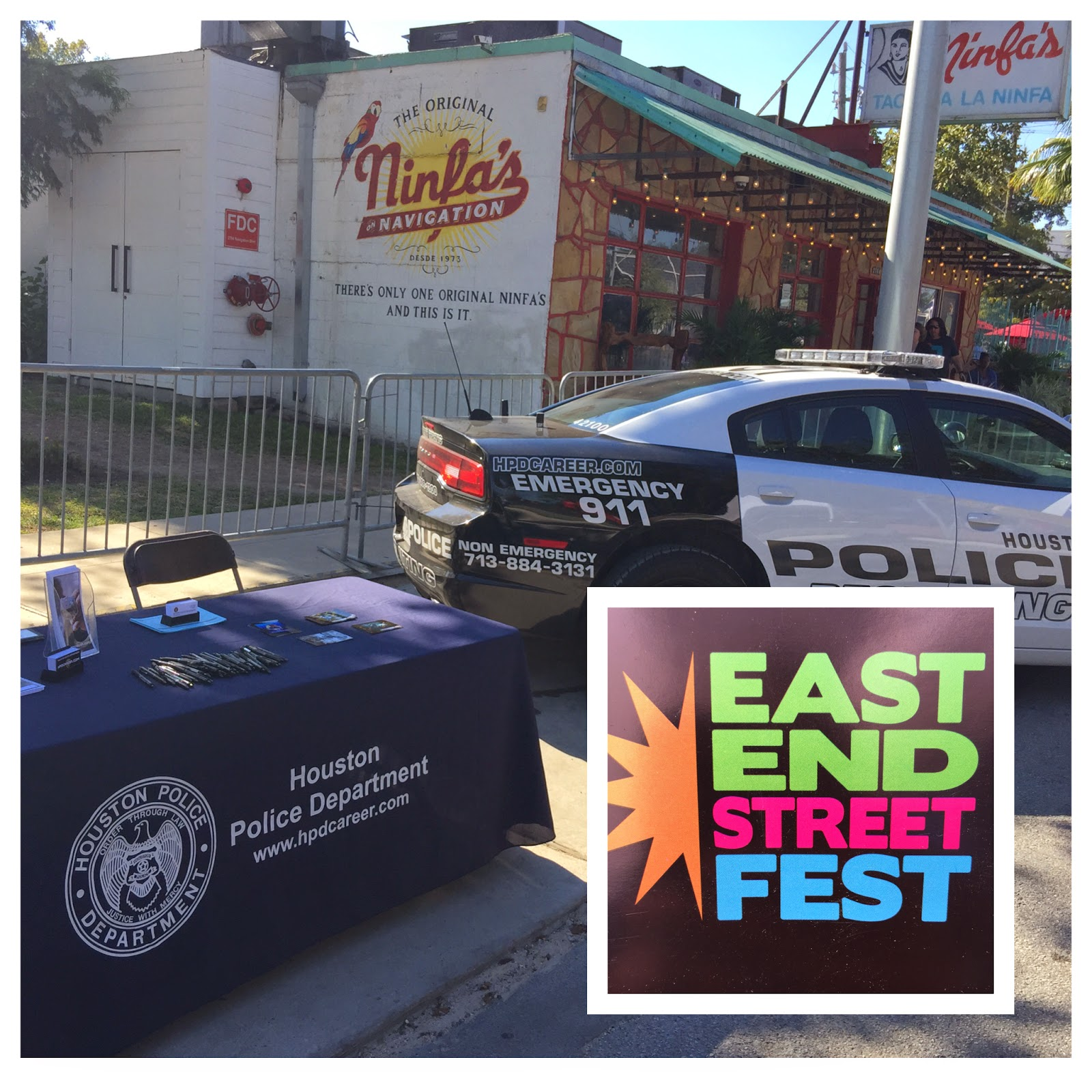 houston police department  hpd recruiting at the east end festival