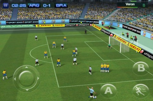 Real Football 2011 GAME PLAY GALAXY MINI E GALAXY ACE
