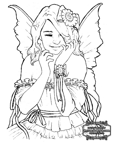 Free Printable Fairy Tale Coloring Pages