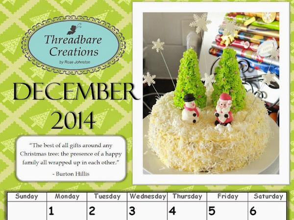 Free December Calendar