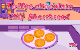 Screenshots of the Toffee Chocolate Chip Shortbread for Android tablet, phone.