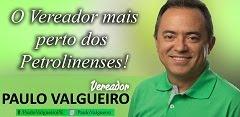 Vereador Paulo Valgueiro
