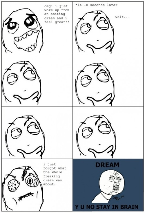 Funny dream ~ cartoon