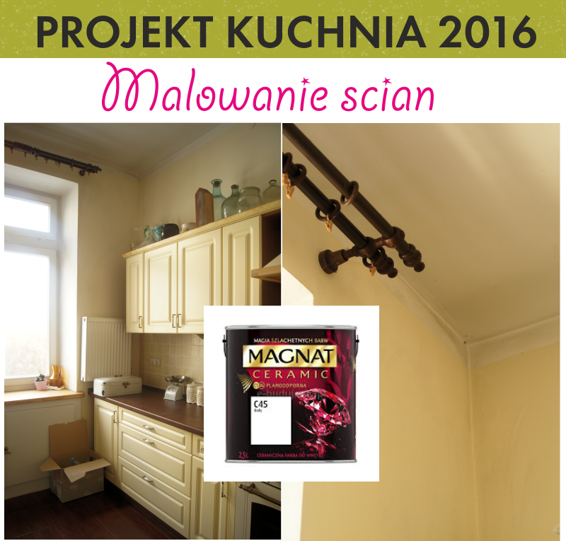 Projekt Kuchnia 5 Malowanie ścian Test ścieralności