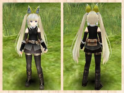 冒険者の服 黒1