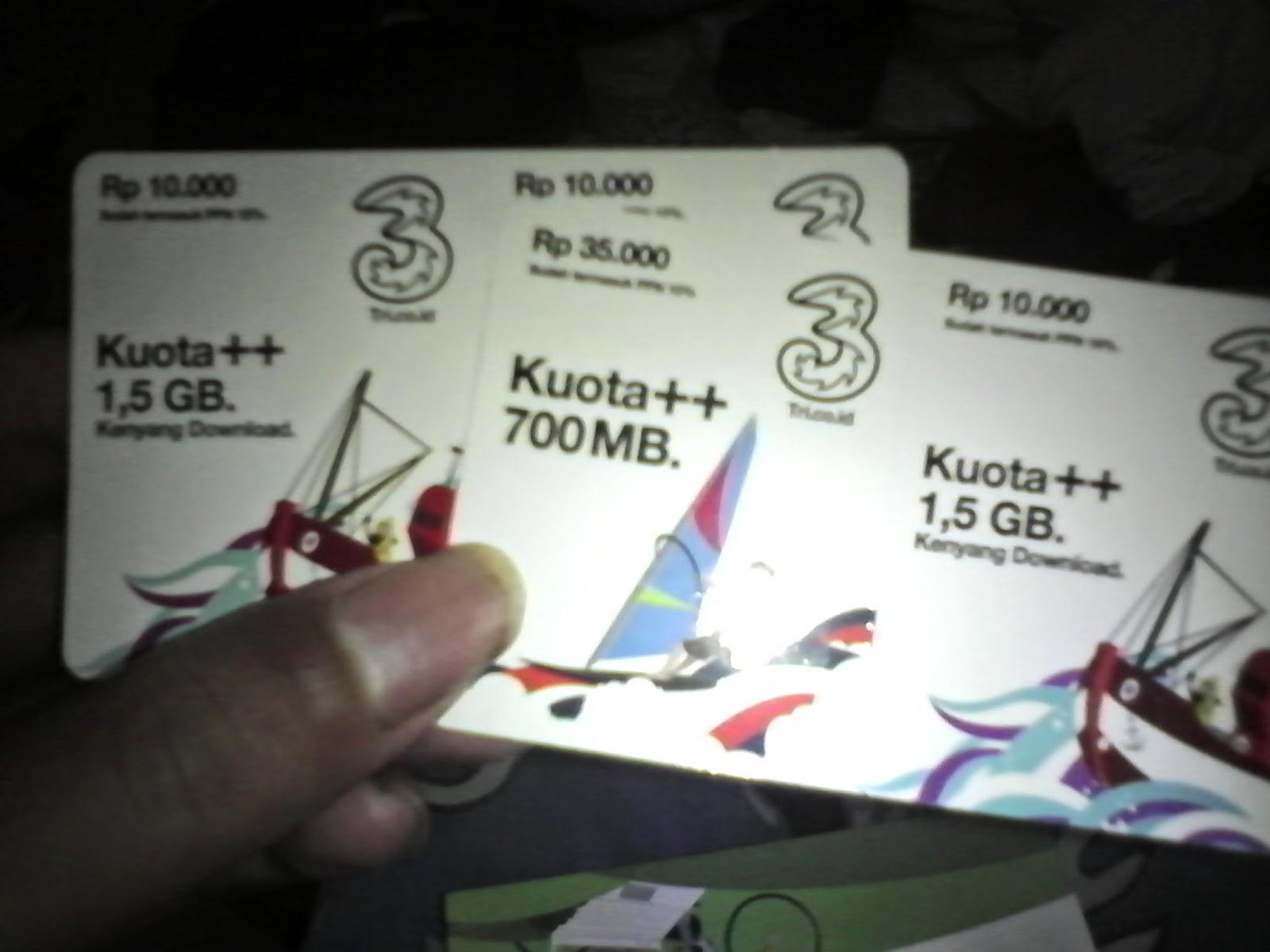 Paket Internet 8,5 GB Three 3 Buat Anak Kuliahan