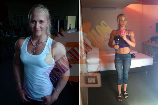 Sarah, Inilah Gadis Cantik Asal Swedia Yang Jago Panco [ www.BlogApaAja.com ]
