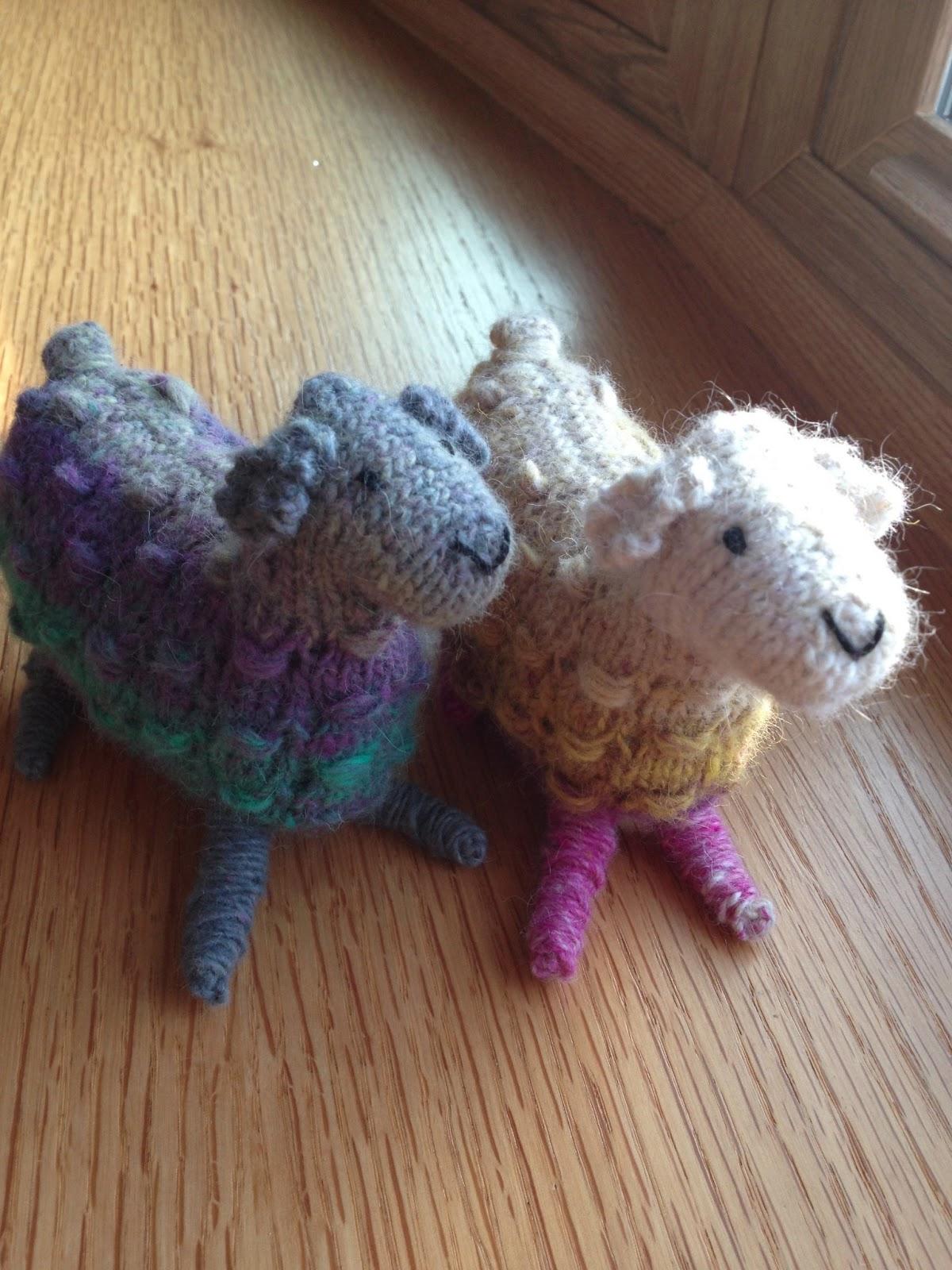 Susan B. Anderson: New Noro Sheep Pattern!