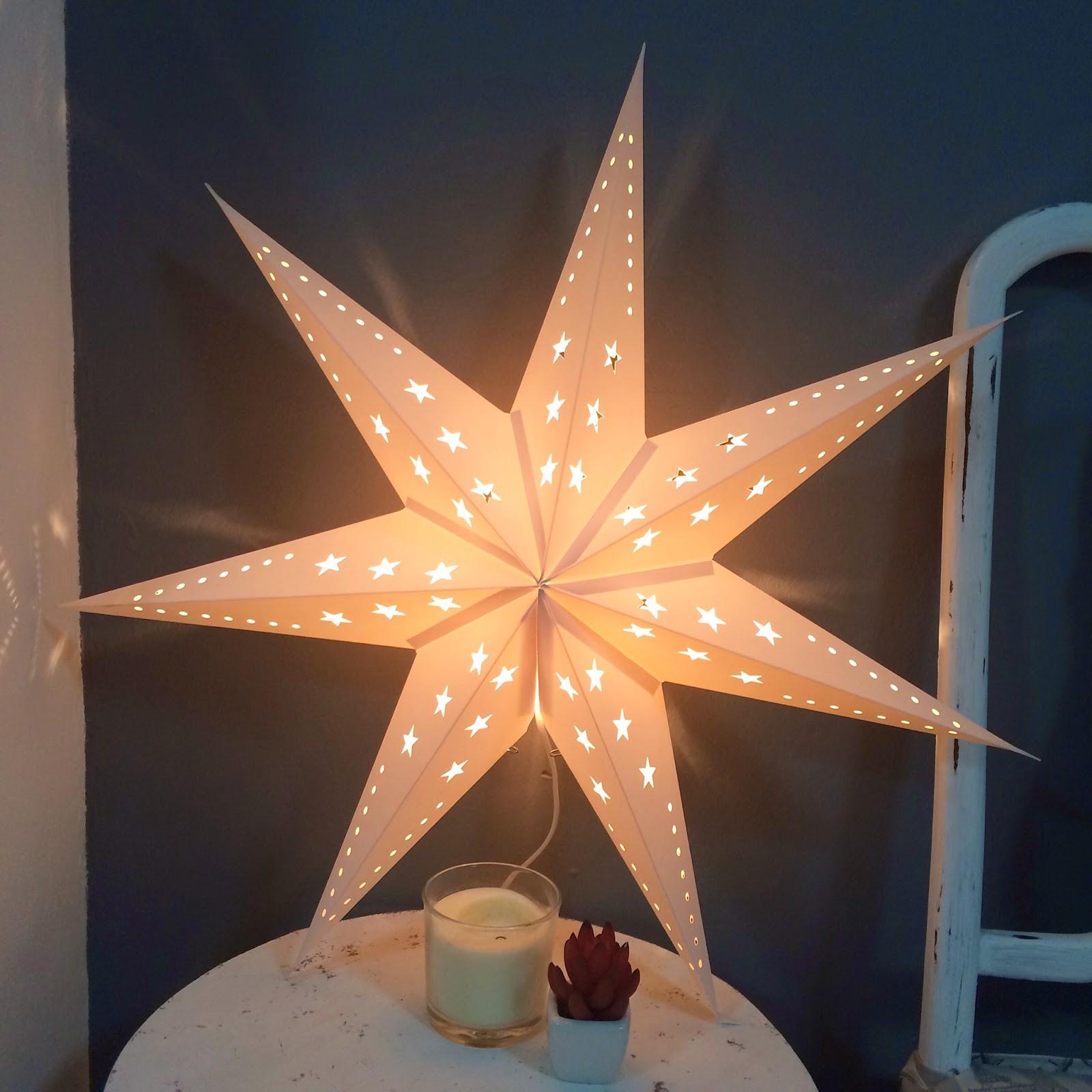 El blog de lorenna decorar con la str la de ikea - Decorar estrella navidad ...