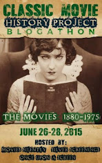 Classic Movie History Project Blogathon -- 1880-1975!