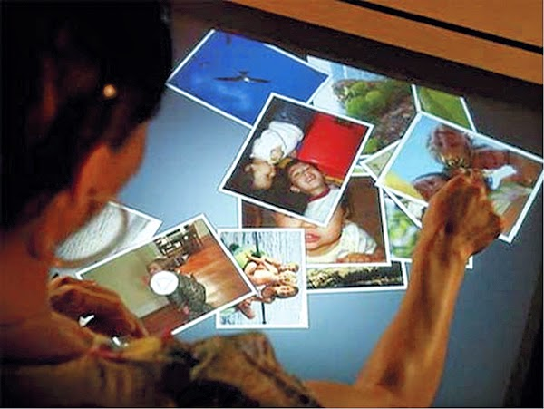 hover_share Multi-touch-computer