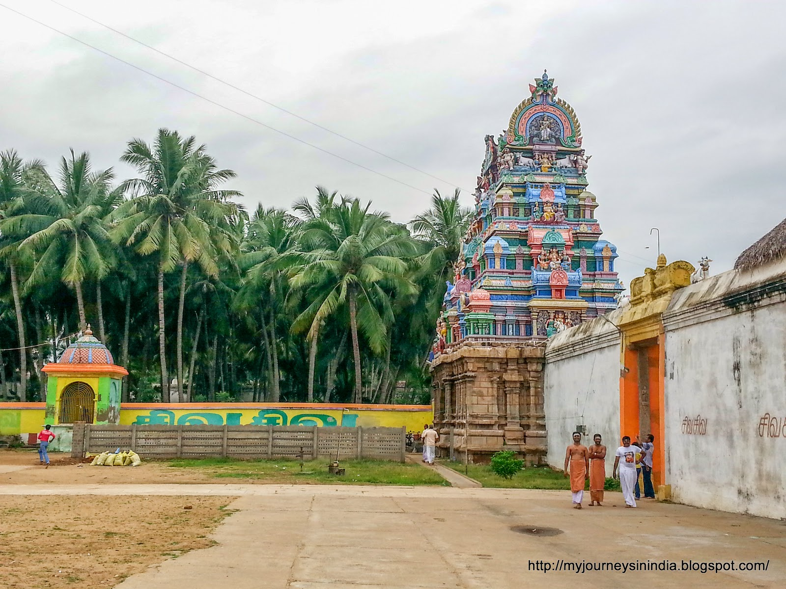 Tiruvaiyaru Aiyarappar Temple Inner Tower