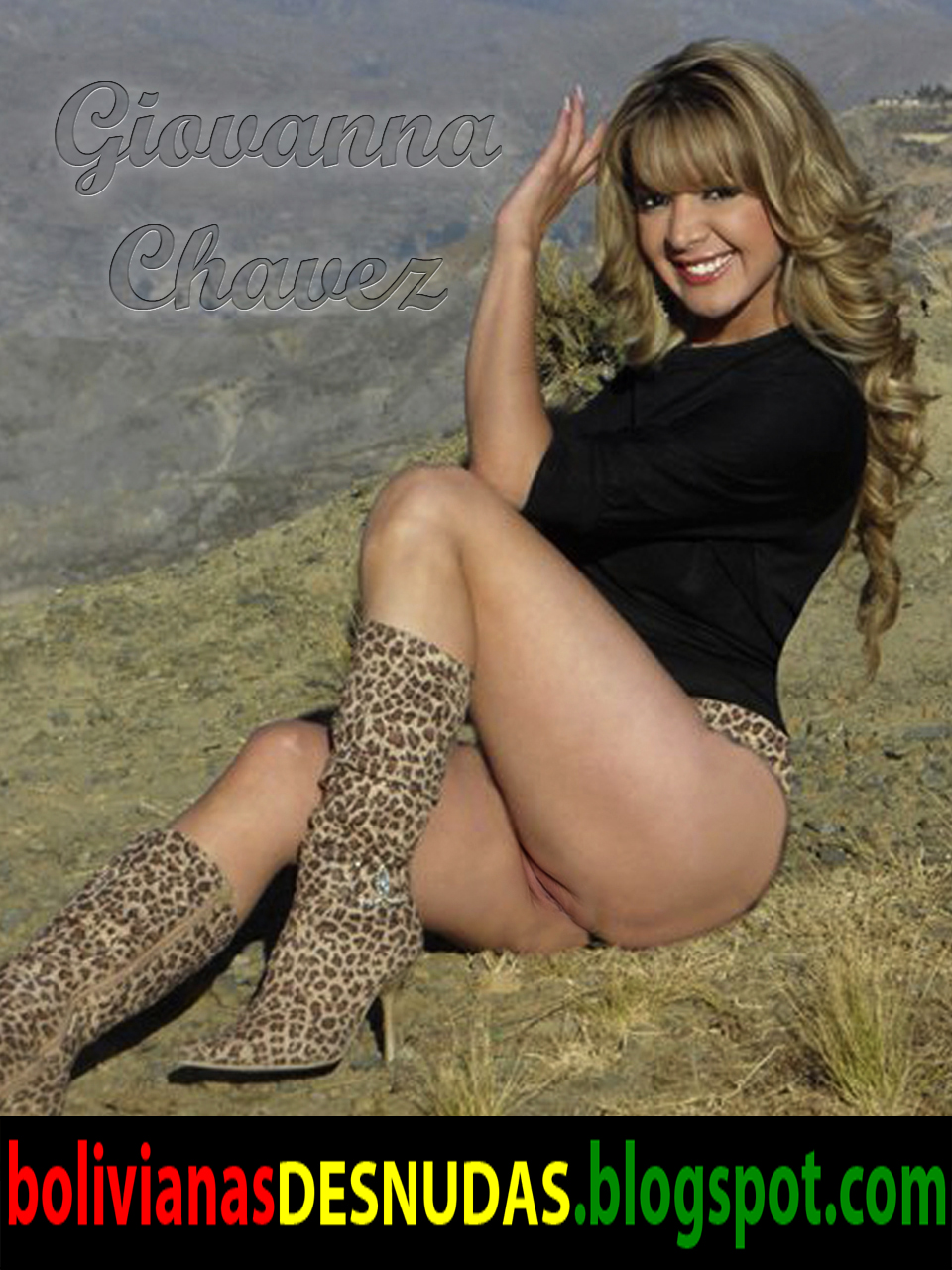 Bolivianas Famosas Desnudas Fake Giovanna Chavez Desnuda Y Abriendo