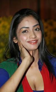 Pooja Sri in lovely Deep Neck Salwar Kameez at AIINA Women Awards 2014