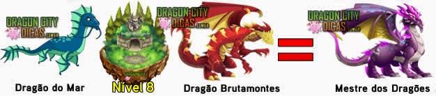 Cruzamentos para fazer o Mestre dos Dragões