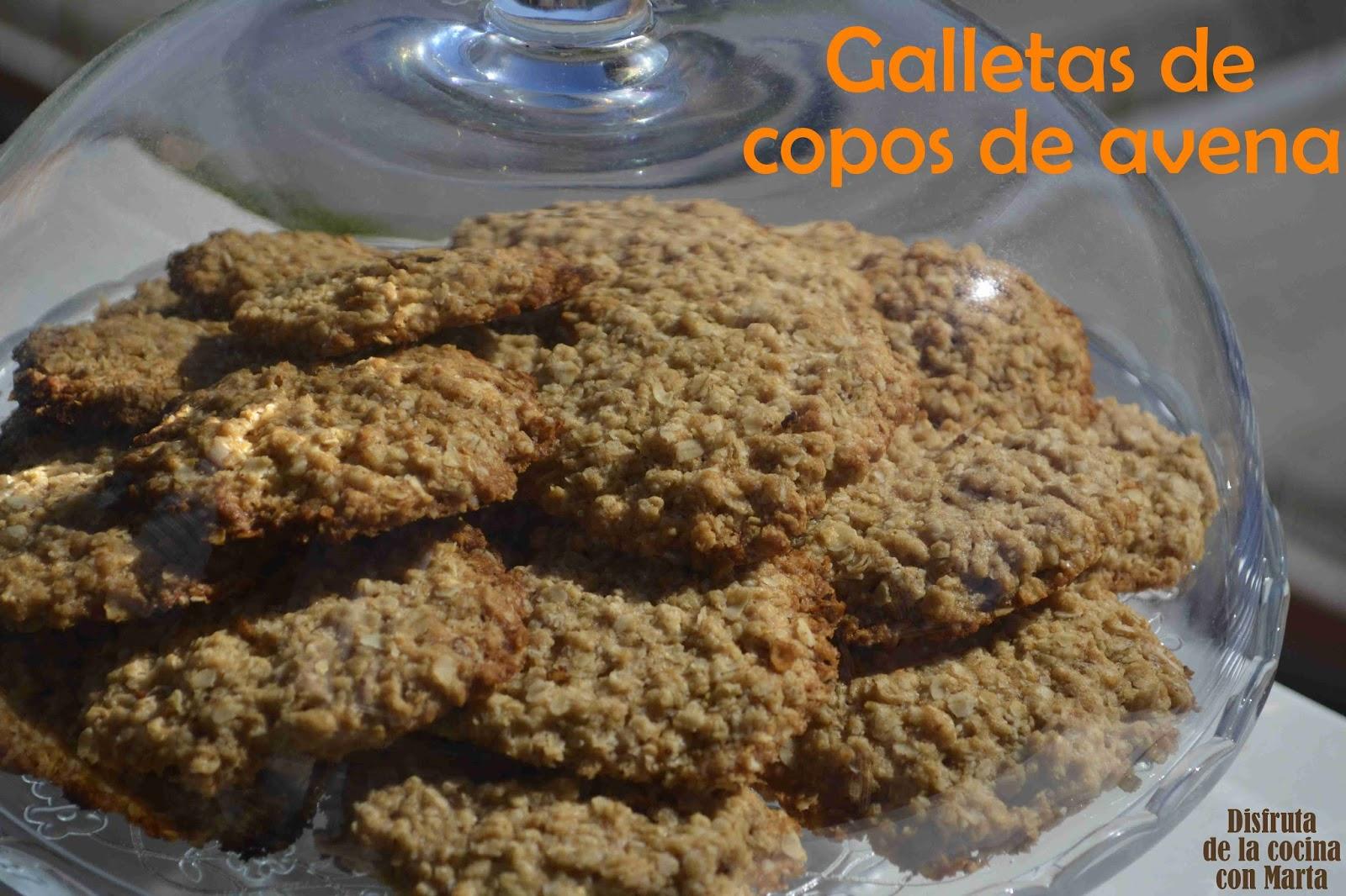 Disfruta de la cocina con marta galletas con copos de avena de las buenas - Copos de avena bruggen ...