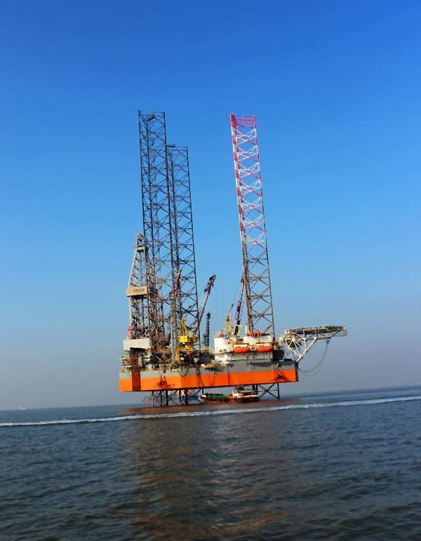 Bombay High oil rig