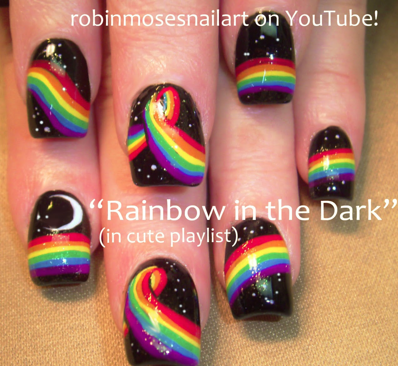 Nail Art Tutorials | Hot Nail Design Playlist | DIY Diva Nails, Lush Nails,  Party Girl Nail Art & Bling for Beginners and Professional Techs! - Robin Moses Nail Art: