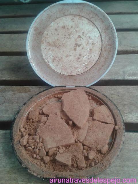polvos sol maquillaje compacto chen yu