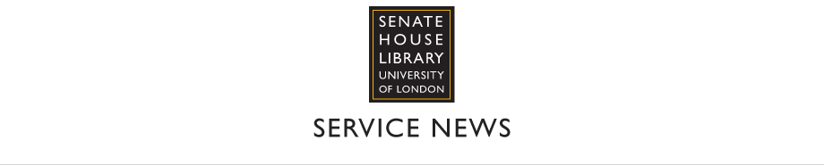 Senate House Library | News Feed
