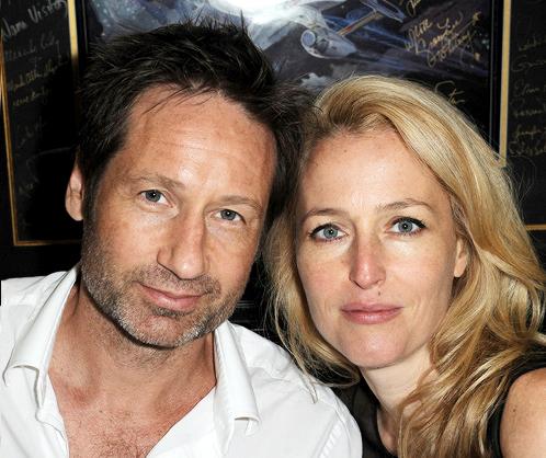 David Duchovny y Gillian Anderson Comic Con 2013