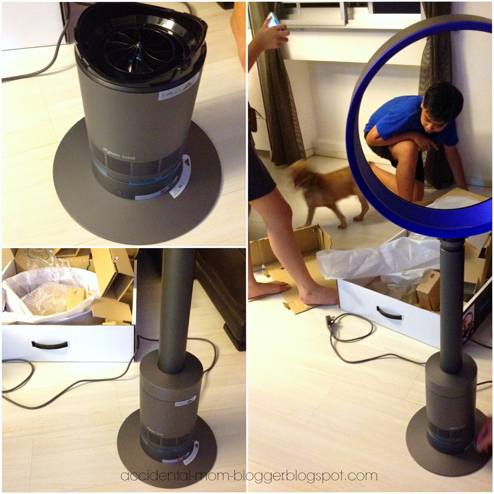compact product page oscillating qvc bladeless dyson pedestal air multiplier com fan