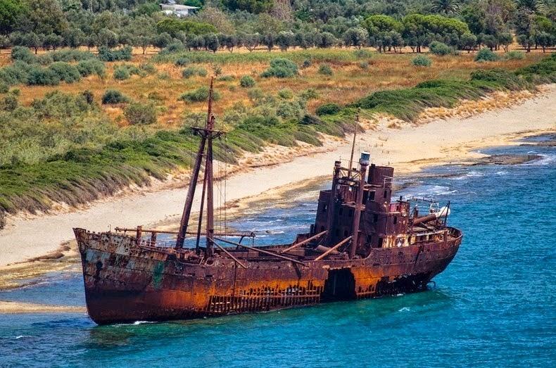 naufragio del dimitrios
