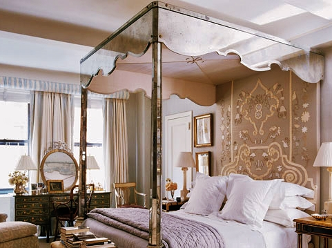 Awe inspiring canopy beds house design and architecture for Elle decor beds