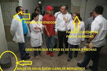 Los Detallitos que El Aissami mostró sin querer en el Hospital de Maracay