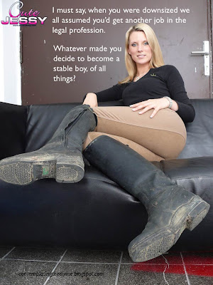 These boots were made for licking
