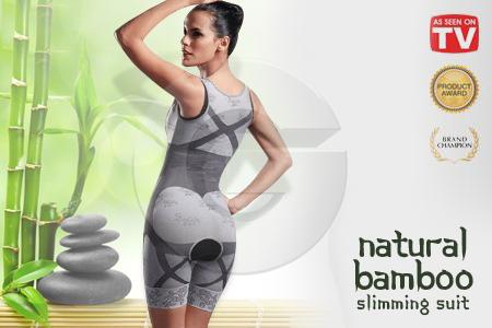 Manfaat Natural Bamboo Slimming Suit 2nd Generation Asli Pakaian Pelangsing Termurah