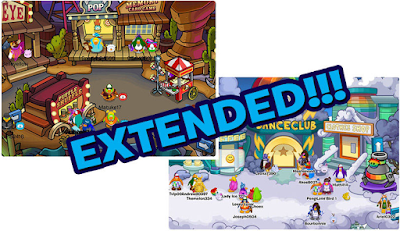 Club Penguin Fair & Rainbow Puffle Party Extended