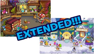 Club Penguin Fair & Rainbow Puffle Party Extended