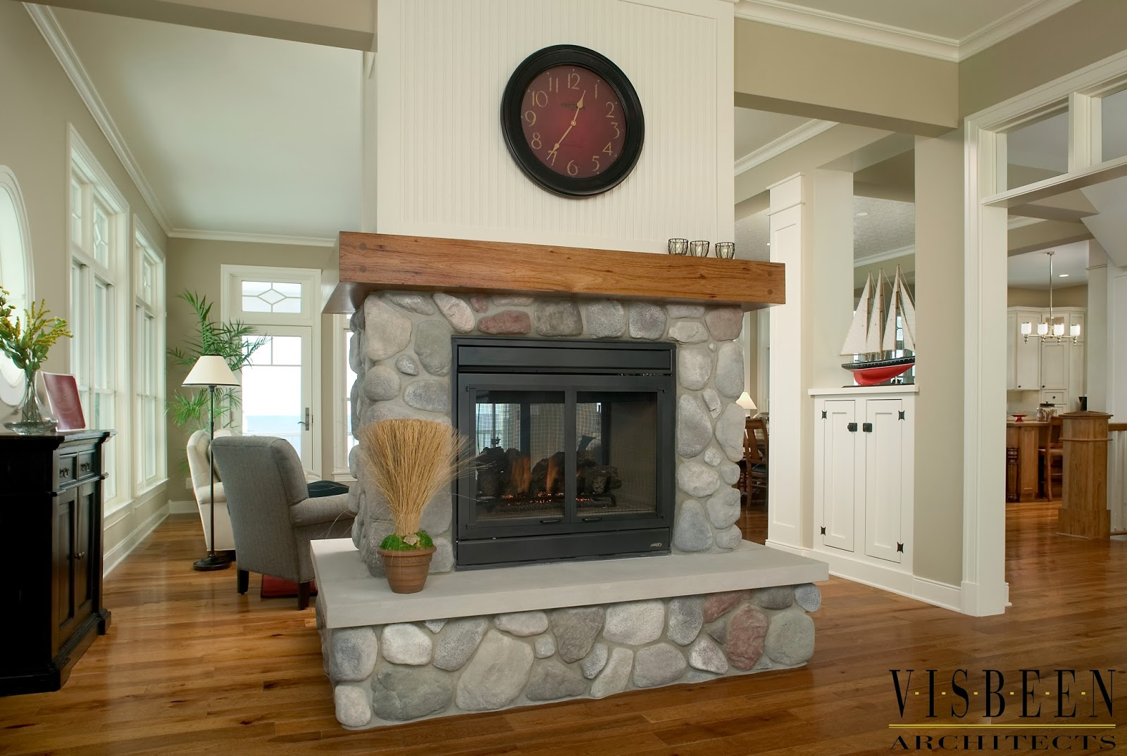 10 Spectacular Fireplace In Center Of Room House Plans 13015