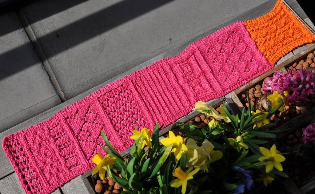 Colours and fabrics breirol broddellap en paars gele sprei - Quilts gele ...