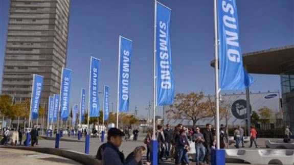 Samsung at Mobile World Congress