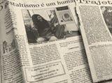 nos jornais