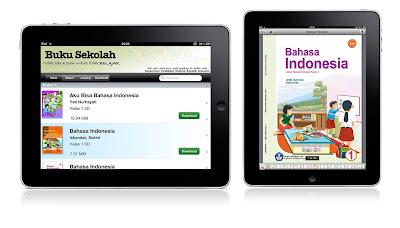 Aplikasi Buku Sekolah Elektronik untuk iPad
