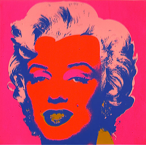 bring me a sunset in a cup andy warhol marilyn monroe. Black Bedroom Furniture Sets. Home Design Ideas