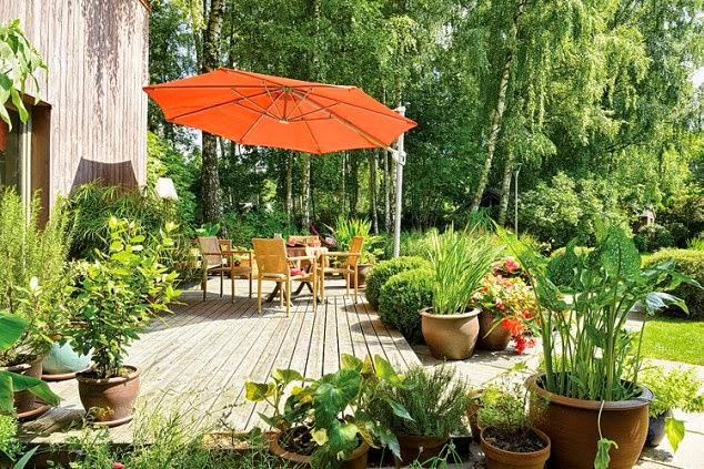Jardines rusticos for Decoracion jardines exteriores rusticos