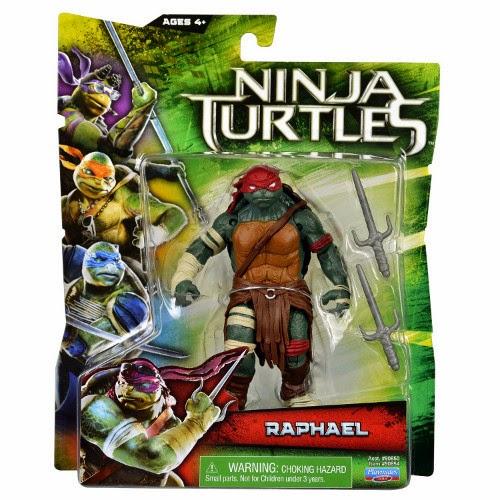 TOYS : JUGUETES - LAS TORTUGAS NINJA  Ninja Turtles La Película : Movie - Muñeco Raphael  Producto 2014 | Playmates Toys | A partir de 4 años