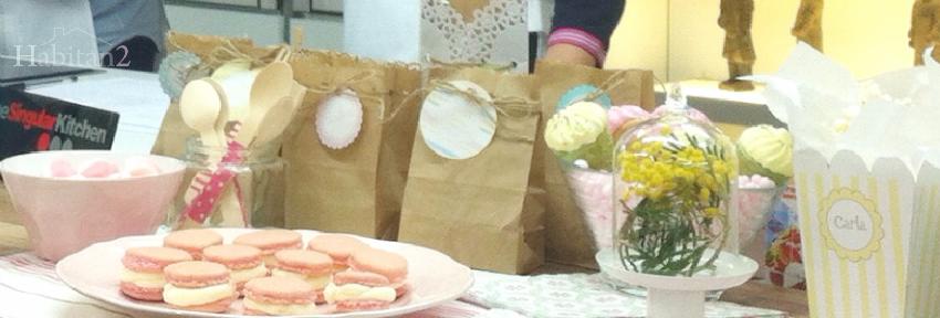 Cocinamos macarons en nuestro taller de mesas dulces by Habitan2