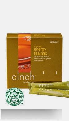 Cinch Energy Tea Mix, rasa segar walaupun seharian ...
