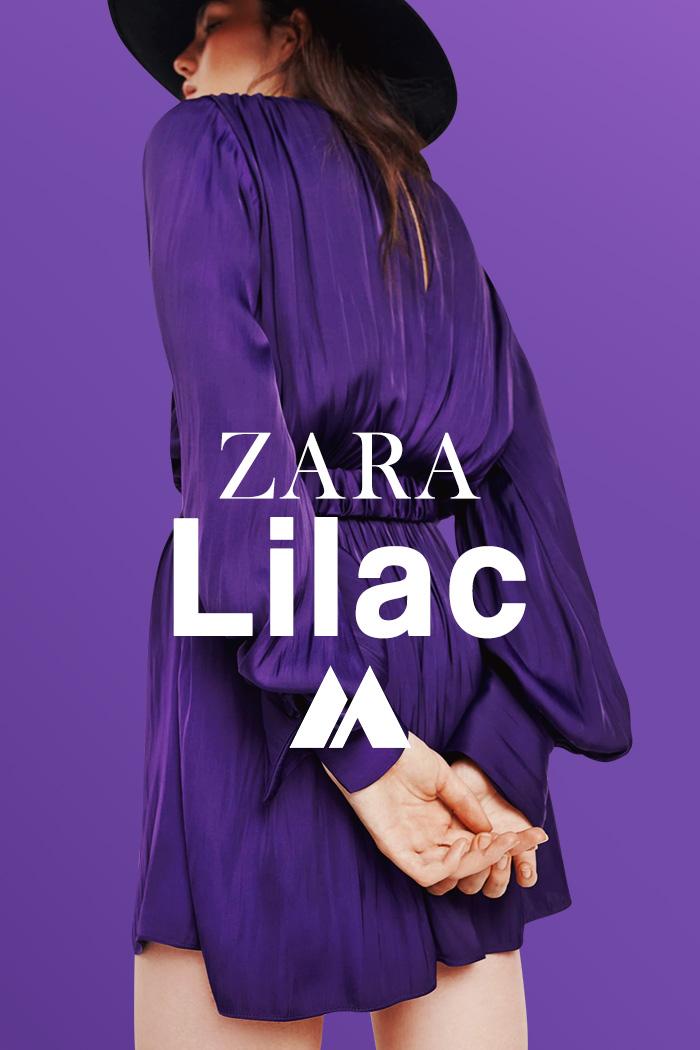 MODA OTOÑO INVIERNO 2021: LILAC, lo nuevo del otoño invierno 2021 de ZARA