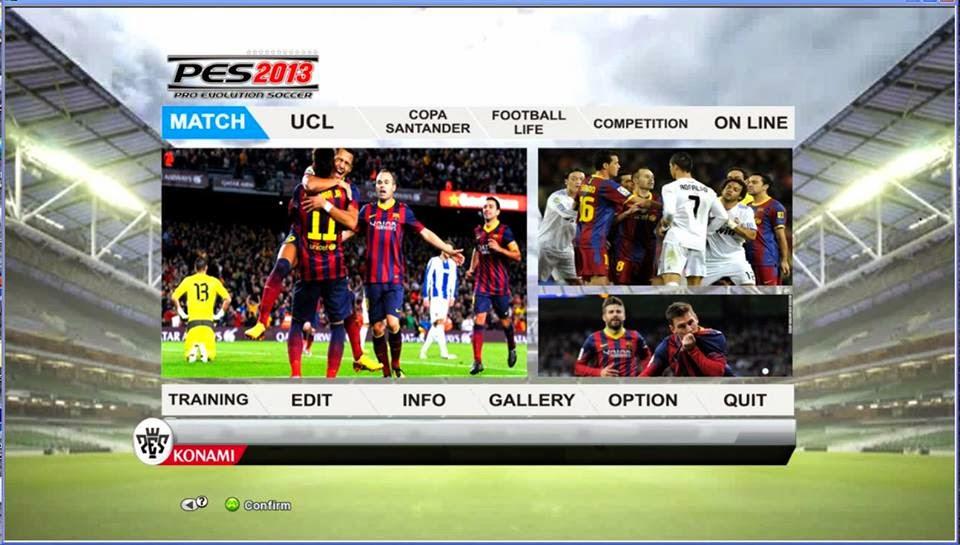 PES 2013 Graphic FIFA14 (Barcelona) by Lingga Imanul Haq