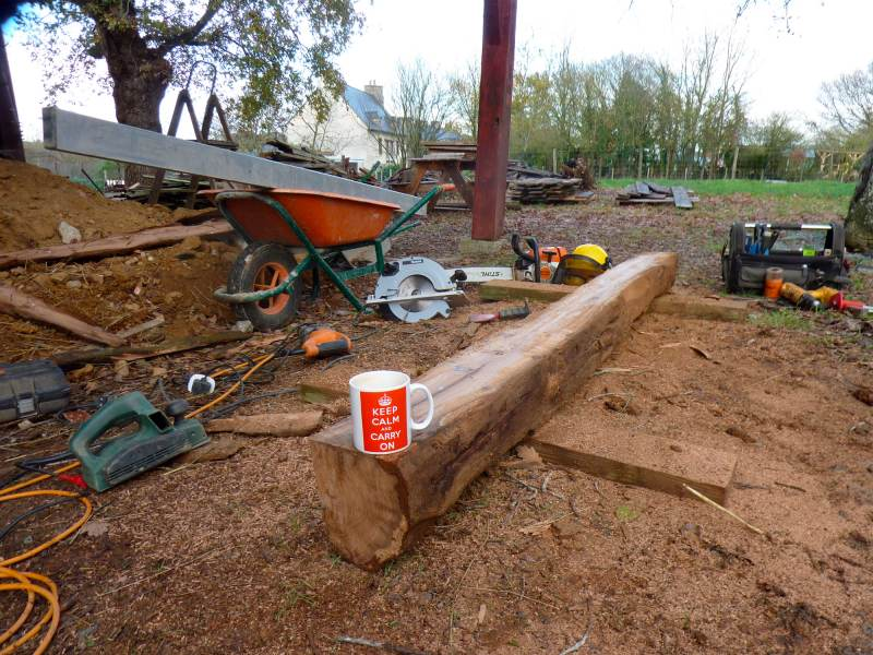 Permaculture In Brittany Barn Renovation Update