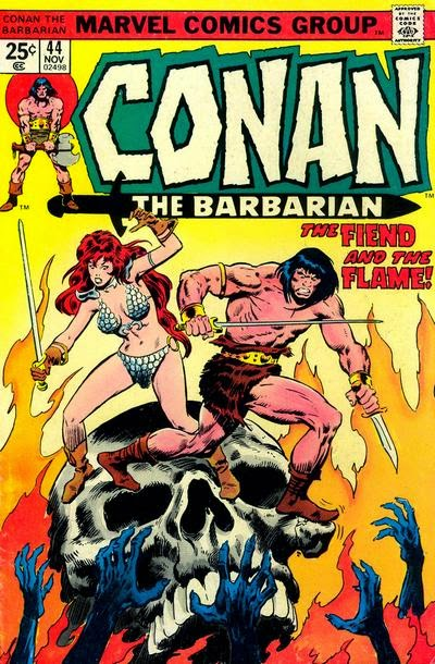 Conan the barbarian #44, Red Sonja
