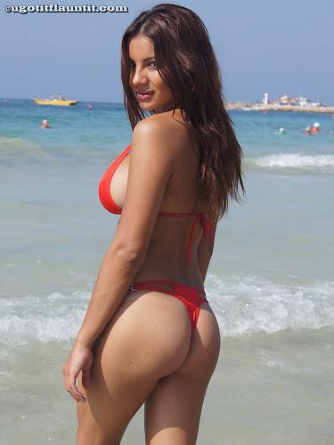 Lacey - Red Bikini_3