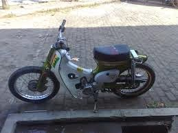 Modifikasi Honda c70 Kalong JapStyle